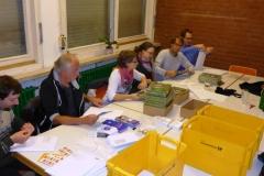 2015 - Welttag Aktion - Kölner Kindergärten erhalten ein Buchgeschenk und Informationen zum frühkindlichen Stottern.
