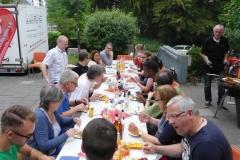 Sommerfest und Tag der offenen Tür - Gerne besuchen uns an diesem Tag auch die umliegenden und befreundeten Stotterer-Selbsthilfegruppen.