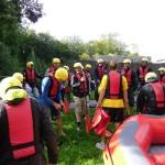 Raftingboot-Tour 2014