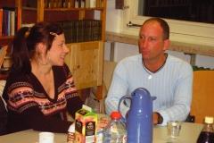 2006 - Erfahrungsaustausch - mehrmals im Jahr tauschen wir und mit angehenden Logopädenschülern aus.