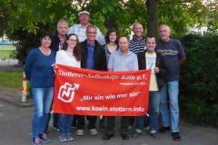 2015 - Social Stutter - Besuch von der International Stuttering Association aus Israel